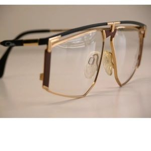 c56fa821272d Cazal Accessories | Vintage Goldblack And Brown Frames | Poshmark